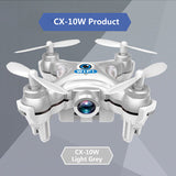 Mini 6-Axis Gyro RC Quadcopter Headless Mode Remote Control Drone with camera - gkstocks