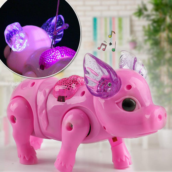Light Pig Electric Toy