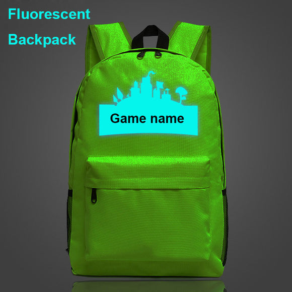 Fortnite Luminous School Bag - gkstocks