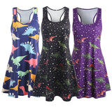 Dinosaur Swing Tank Dress - gkstocks