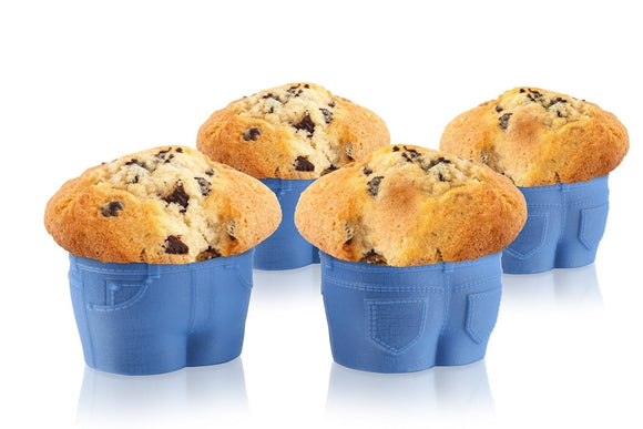 Top Jeans Muffin Molds - gkstocks