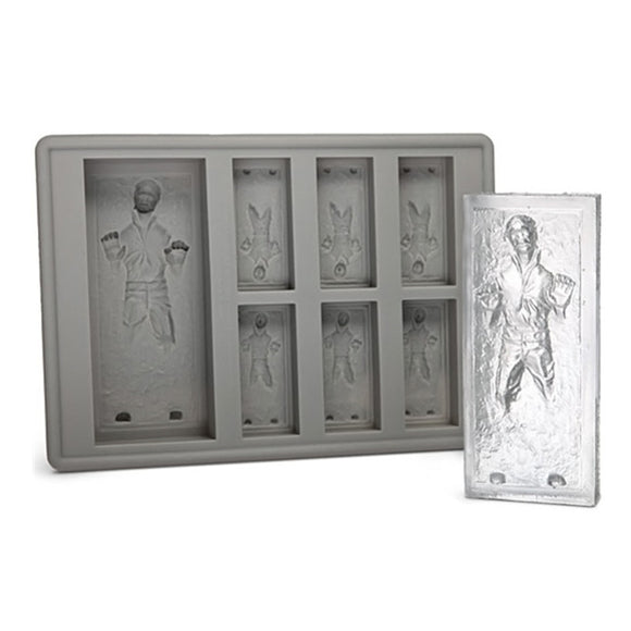 Star Wars Han Solo in Carbonite Ice Cube Tray - gkstocks
