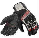 Ventilated Genuine Leather Gloves - gkstocks