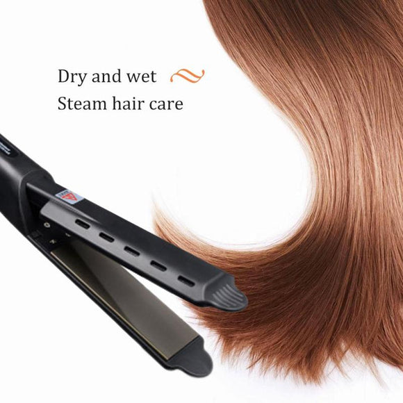 Tourmaline Ionic Flat Iron Hair Straightener - gkstocks