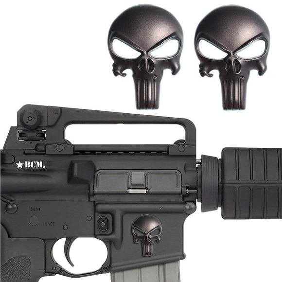 Tactical Punisher Metal Sticker - gkstocks