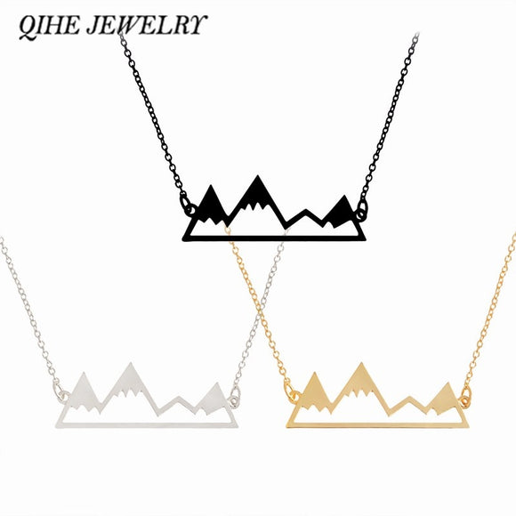 Cute Snowy Mountain 18″ Necklace - gkstocks