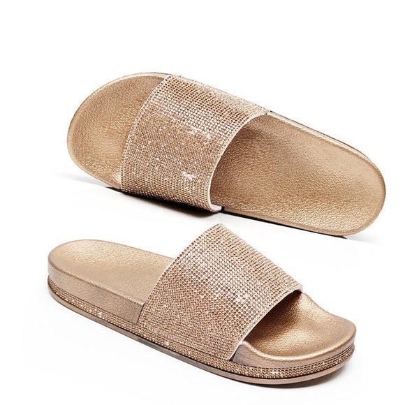 Gold/Silver Slippers - gkstocks