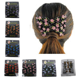 Portable Mini Style Hair Comb Magic Beads Elasticity Clip - gkstocks