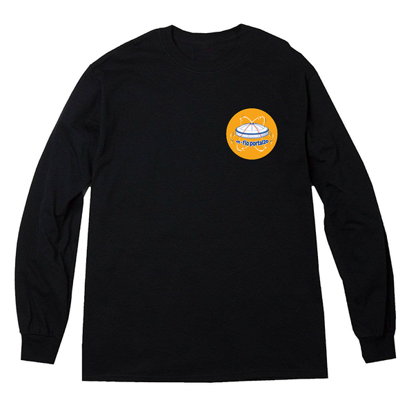 portal20 Long Sleeve Tee (Black)