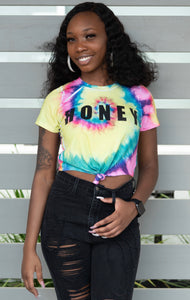 SALE Honey Tie Dye Crop Top