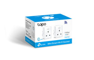 TP Link Tapo 100 Smart Plug twin pack