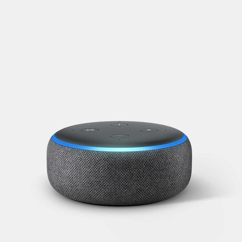 Amazon Echo Dot (3rd Gen) Charcoal Fabric
