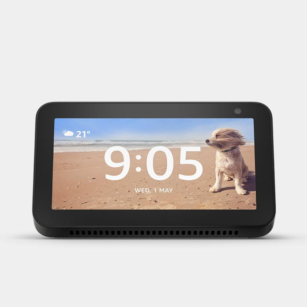 Amazon Echo Show 5 Charcoal Fabric