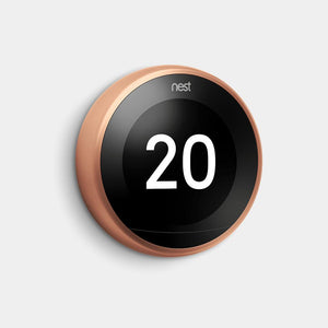 Google Nest Learning Thermostat 3rd Gen Copper