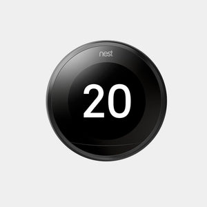 Google Nest Learning Thermostat 3rd Gen Black