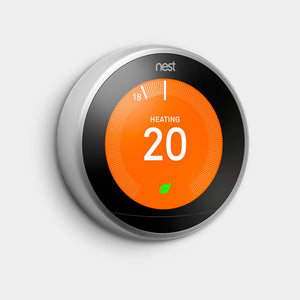 Google Nest Learning Thermostat 3rd Gen Stainless steel