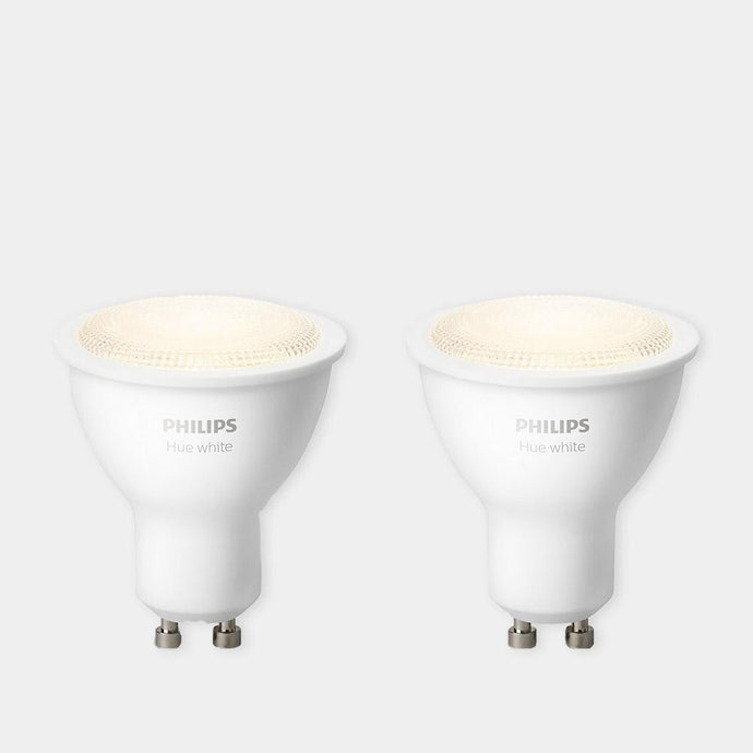 Philips Hue Warm White GU10 Twin Pack