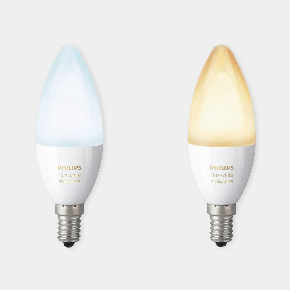 Philips Hue White Ambiance E14 (Twin Pack)