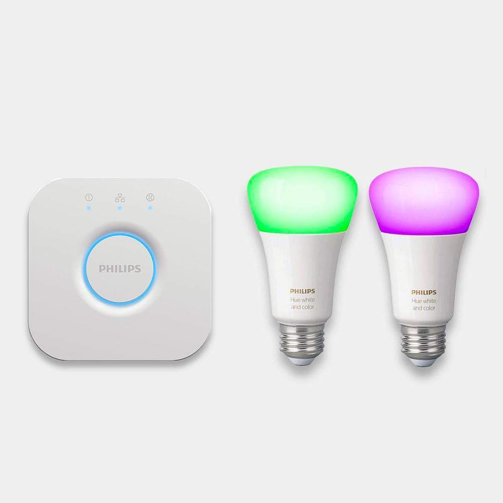 Philips Hue White and Colour Ambiance Mini Starter Kit E27/B22
