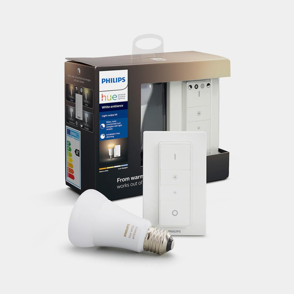 Philips Hue White Ambiance E27 Light Recipe Kit