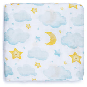 Swaddle Blanket - Moon & Stars