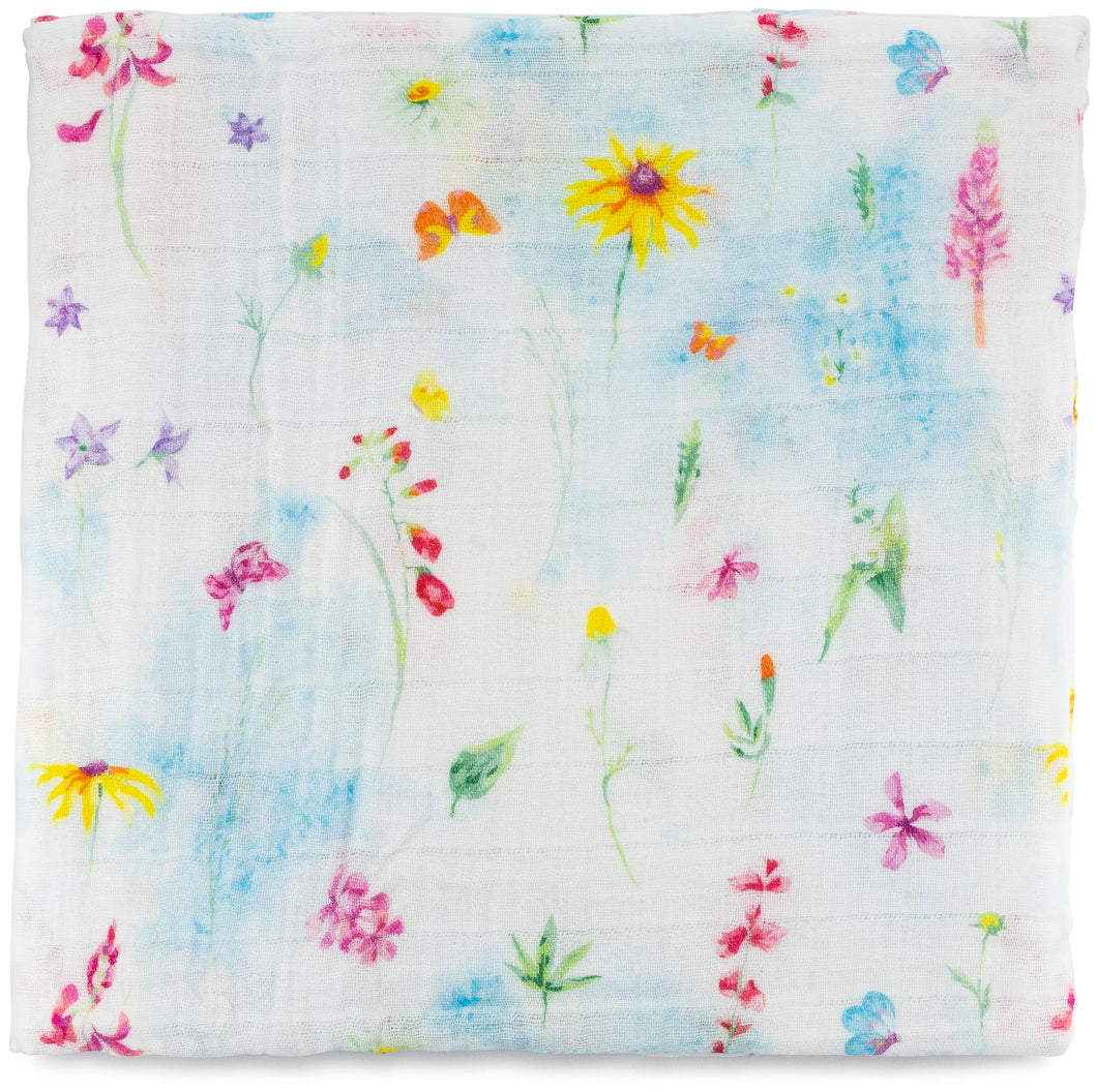 Swaddle Blanket - Sunflower