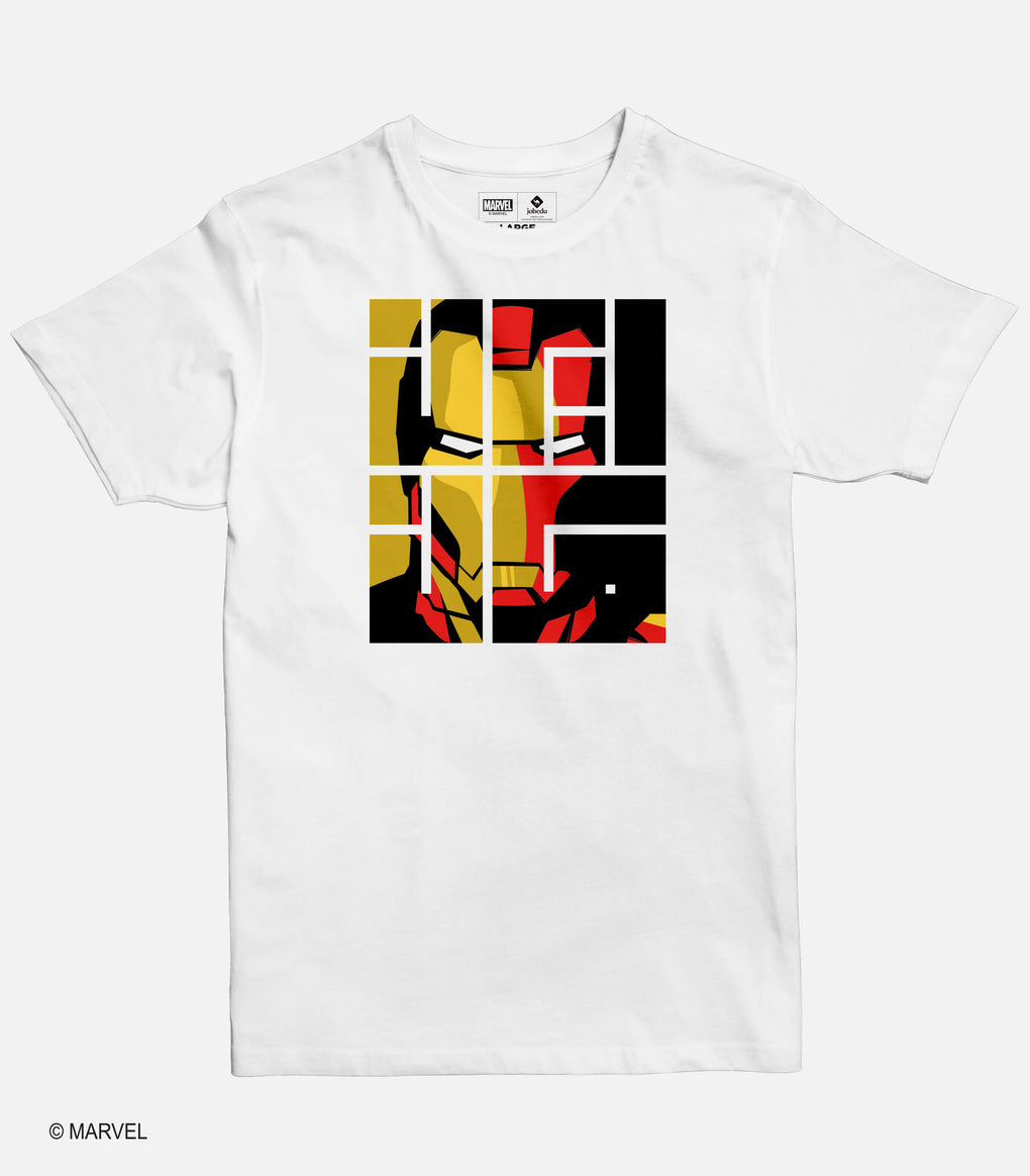 Iron Man Font Men's T-shirt