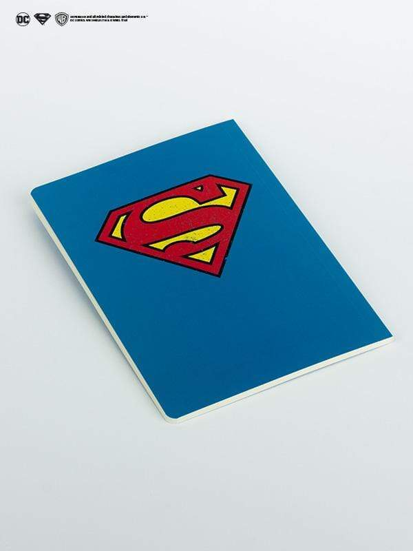 Superman Logo Sketchbooks & Notebooks - Jobedu