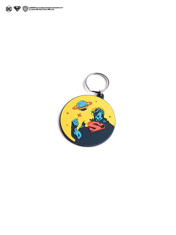Superman Minimal Keychain