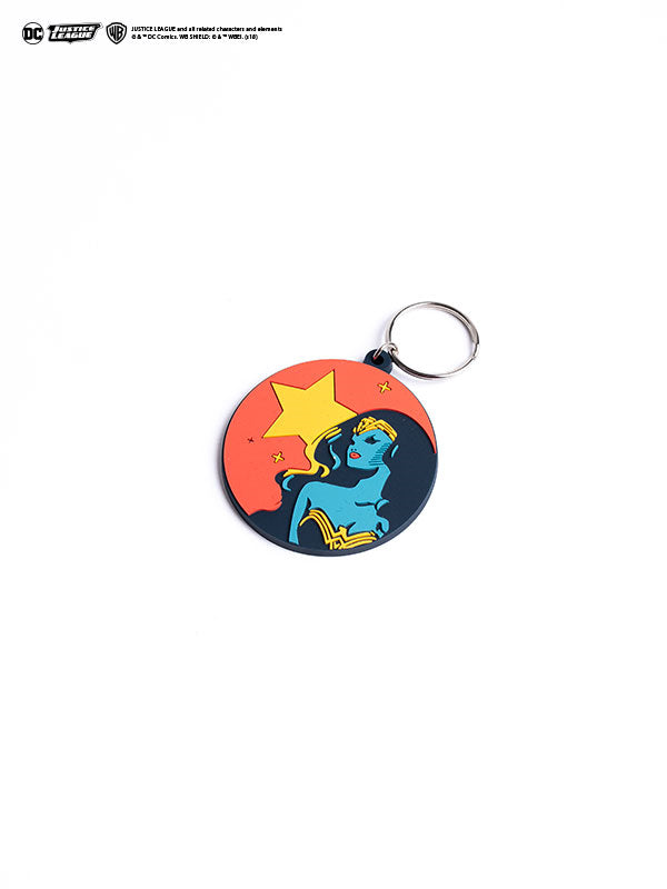 Wonder Woman Minimal Keychain