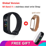 Original Xiaomi Mi Band 4 Bluetooth 5.0 Wristband Fitness Bracelet AMOLED Color Touch Screen Music AI Heart Rate