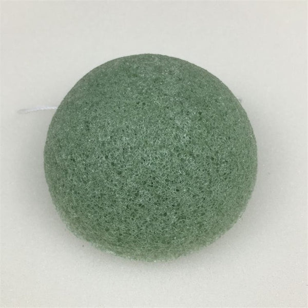 1pcs Natural Konjac Cosmetic Puff Bamboo Charcoal Cleanser Sponge Makeup Facial Cleaning Tool Smooth Beauty Essential Konnyaku