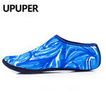 UPUPER Unisex Water Sport Beach Shoes For Swimming Shoes Men Women Sneaker Non-Slip Yoga Swim Slippers For Swimming Sea Shoes