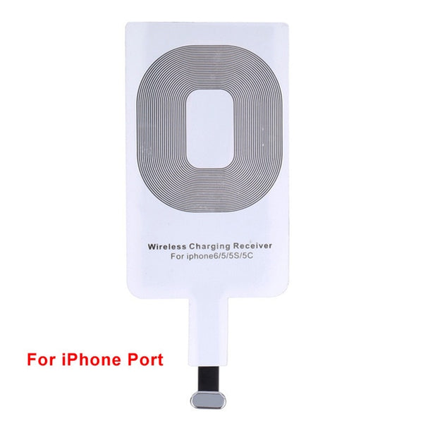 Universal Qi Wireless Charger Charging Pad Phone Adapter Dock Station for iPhone 8 Plus for Samsung Galaxy S8/S8 Plus Note 8