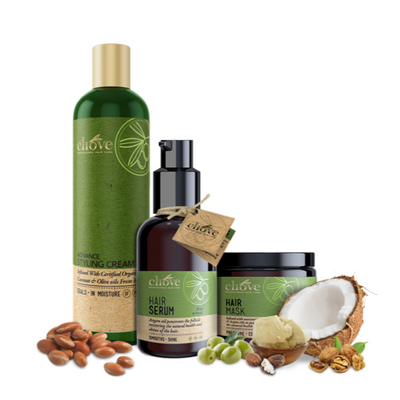 Protein Hair Mask and Styling Bundle