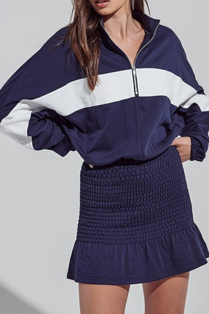 LEISURE TRACKSUIT DRESS