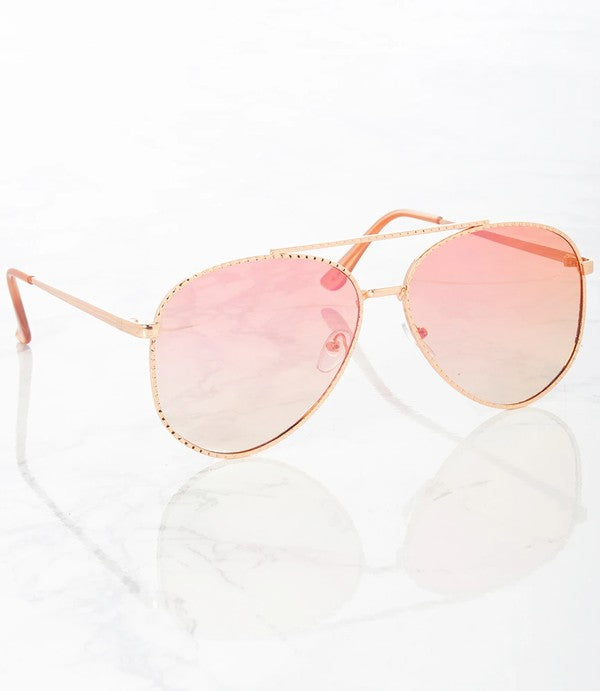 In Living Color Aviator Sunnies