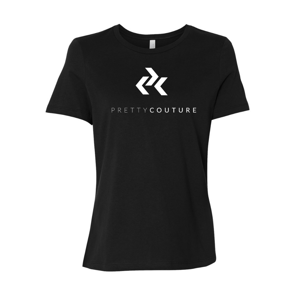 Black Pretty Couture Classic Crew Neck T-Shirt