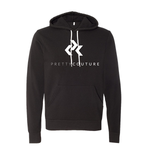 Black Pretty Couture Logo Hoodie