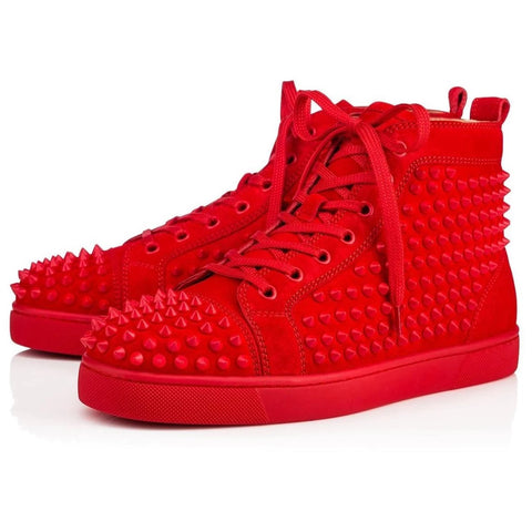 Lou Calf Fashion High Top Rood