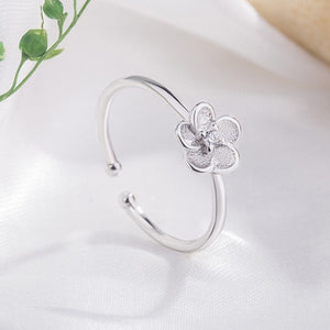 "Bague ajustable ""Flower"""