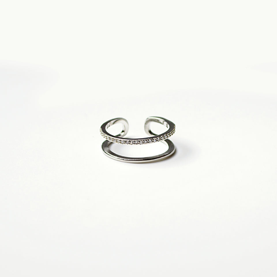 "Bague ajustable ""Joy"""