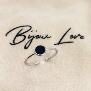 "Bague ajustable ""Point"""