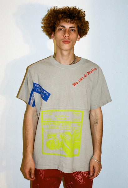 ECKHAUS LATTA COLLAB LAPPED TEE