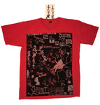 WALL SLAB T-SHIRT CHINA RED