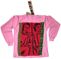 """COMESESSO"" LONG SLEEVE PINK/WHITE"
