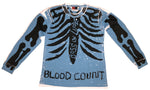 """BLOOD COUNT"" SKELLY LONGSLEEVE LEE"