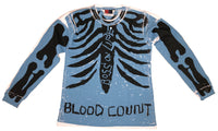 """BLOOD COUNT"" SKELLY LONG SLEEVE LEE"
