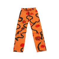 "HEMI-TEARWAY DENIM JEANS ""ORANGE THISTLE"""