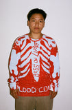 """BLOOD COUNT"" SKELLY LONG SLEEVE BLUD"